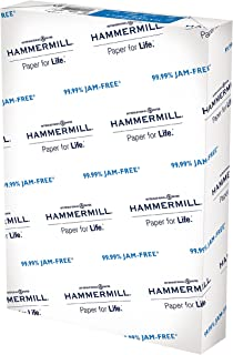 Hammermill A4 Paper, 20 lb Copy Paper (210mm x 297mm) - 1 Ream (500 Sheets) - 92 Bright, Made in the USA, 105500R