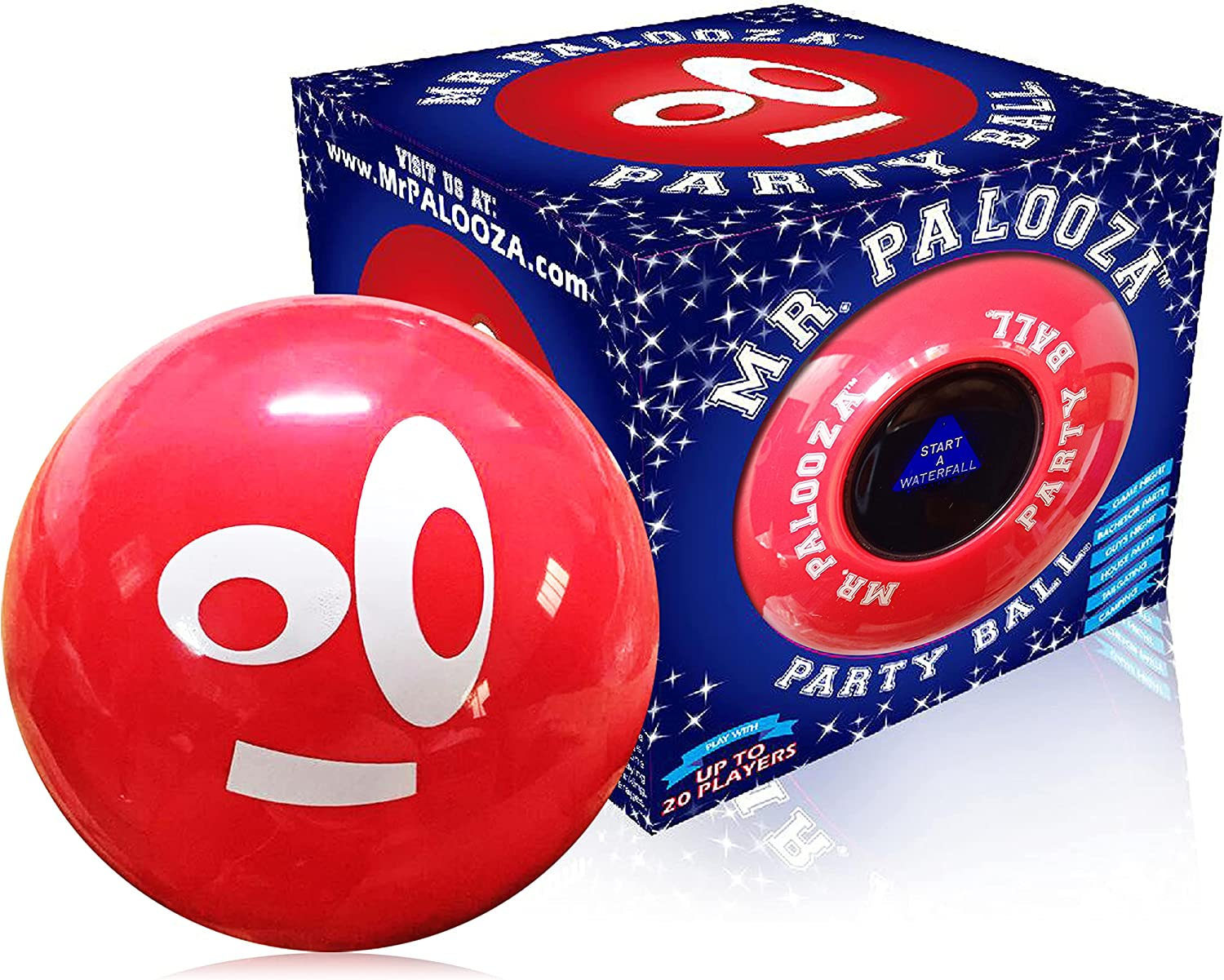 DRINK-A-PALOOZA PARTY BALL: Fun Ranking Japan Maker New TOP14 Drinking Games Adults Part for