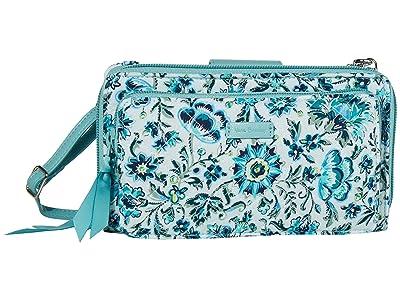 Vera Bradley Deluxe All Together Crossbody (Cloud Vine) Cross Body Handbags
