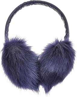 ZLYC Womens Girls Winter Fashion Adjustable Faux Fur EarMuffs Big Ear Warmers