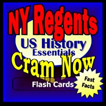NY Regents Prep Test UNITED STATES HISTORY & GOVERNMENT Flash Cards-CRAM NOW!-Regents Exam Review Book & Study Guide (NY Regents Cram Now! 8)