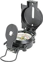 National Geographic Kompas met drijvend gelagerde schaal van 360 graden, noordpijl, bevestigingsoog en vizierdraad/-spleet...