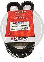 RECMAR Alternator Belt for Yanmar 2GM20F, F-YEU 3GM30, F-YEU RO: 25132-003700