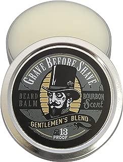 GRAVE BEFORE SHAVE Gentlemen's Blend Beard Balm (Bourbon Scent) (2 oz.)