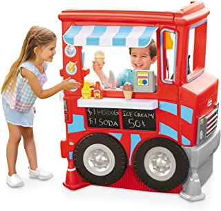 Little Tikes 2-in-1 Pretend Play Food Truck Kitchen - Refreshed