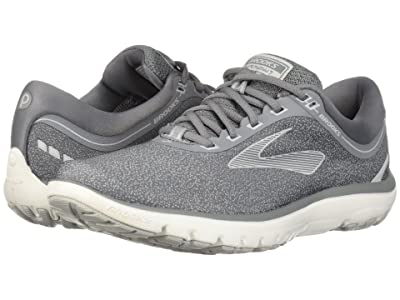 Brooks PureFlow 7 (Grey/Microchip/White) Women