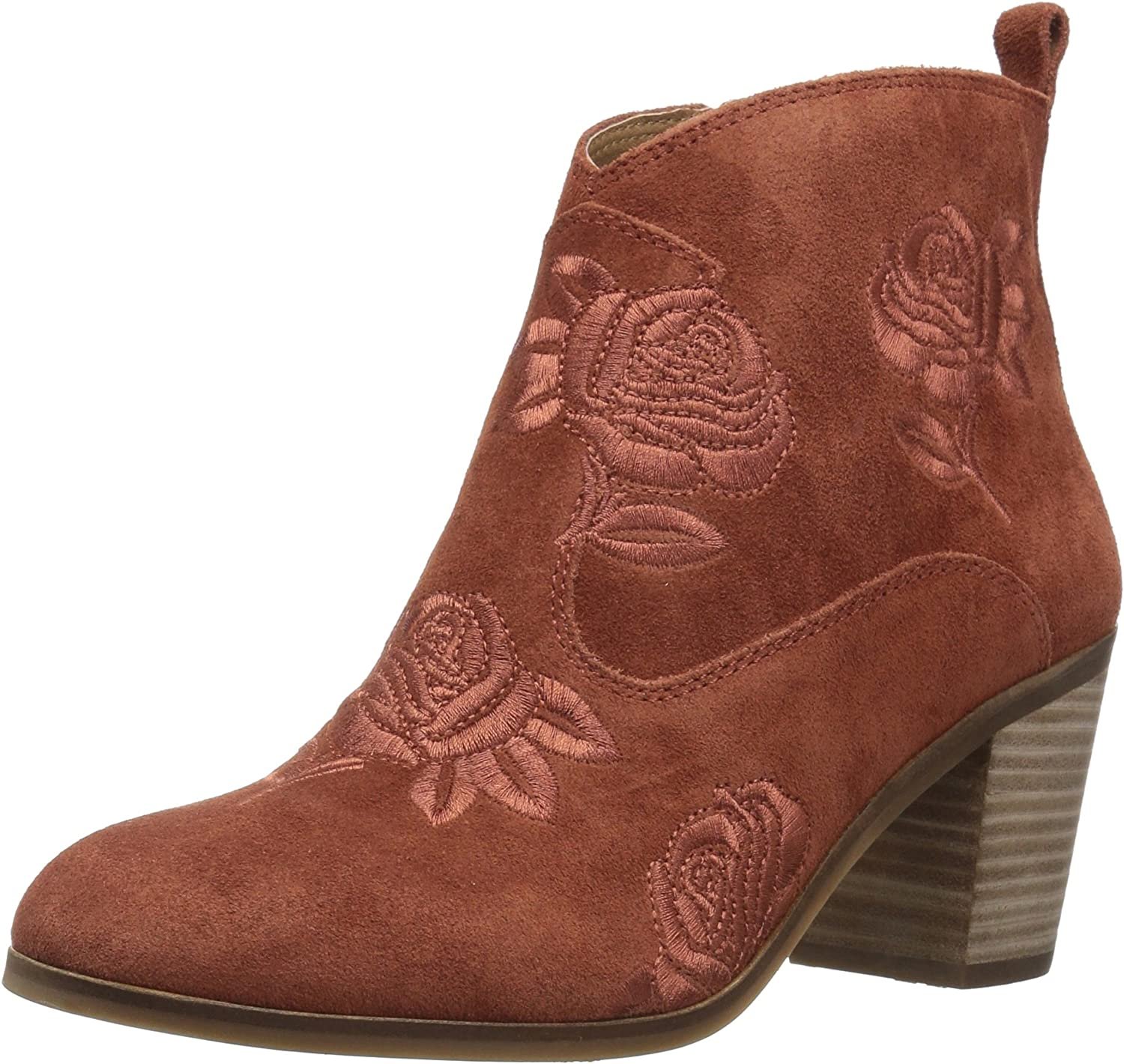Lucky Womens Pexton Ankle Boot