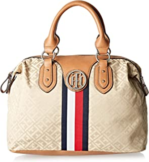 Tommy Hilfiger Tote Bag for Women - Canvas, Brown