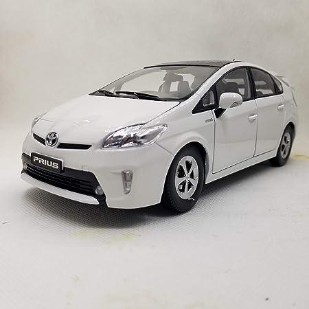 ミニカー 1/18 Toyota Prius 2013 トヨタ プリウス (ホワイト) ダイキャストモデルカー