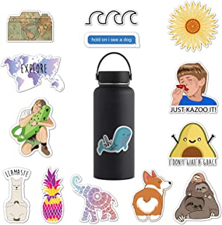 RipDesigns - 14 Cute Stickers for Water Bottles, Laptops (Series 1)