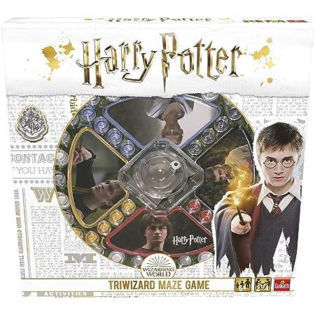 Pressman- Harry Potter Los Tres Magos Juego de Mesa, Multicolor (Goliath Games 108672)