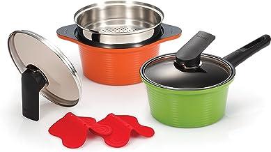 Happycall Alumite Ceramic Pot Set