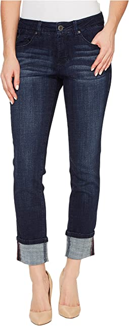 Jag Jeans - Maddie Skinny Cuff Crosshatch Denim in Night Breeze