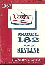 1967 Cessna Model 182 And Skylane Owner's Manual