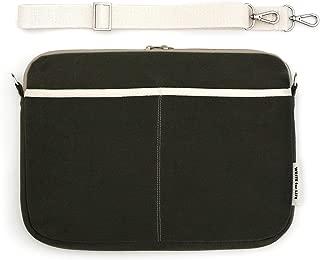 JSTORY Dongle Notebook Bag Natural Fabric Zip Top Laptop Computer Protective Universal Carrying Case Medium