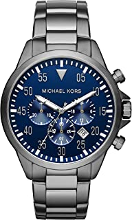 Men's Gage Gunmetal Watch MK8443
