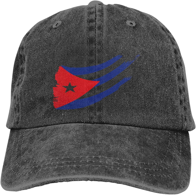 KKeyZone Llemon Flag of Cuban Classic3 Light Sport Hat Stylin Cowboy Hats