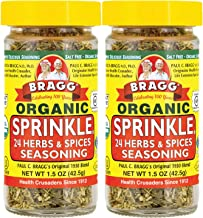 Bragg Sprinkle Herbs and Spices Seasoning, 1.5oz, 2 Pack