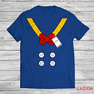 LAZIDA Donald Costume Funny Duck Suit And Bow Halloween Costume T-Shirt | Hoodie | Tank Top | Sweatshirt | Long Sleeve