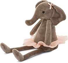 Jellycat Dancing Darcey Elephant Stuffed Animal, Small, 10 inches