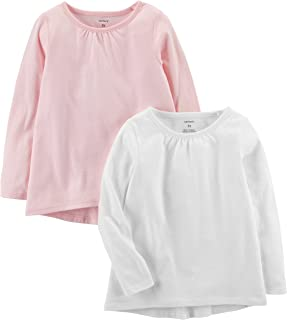 Carter's Girls' 2-Pack Long-Sleeve Tees