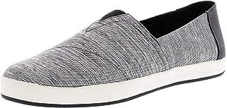 TOMS Canvas Men's Shoes SPACE DYE AVA 10011636 Black-Grey