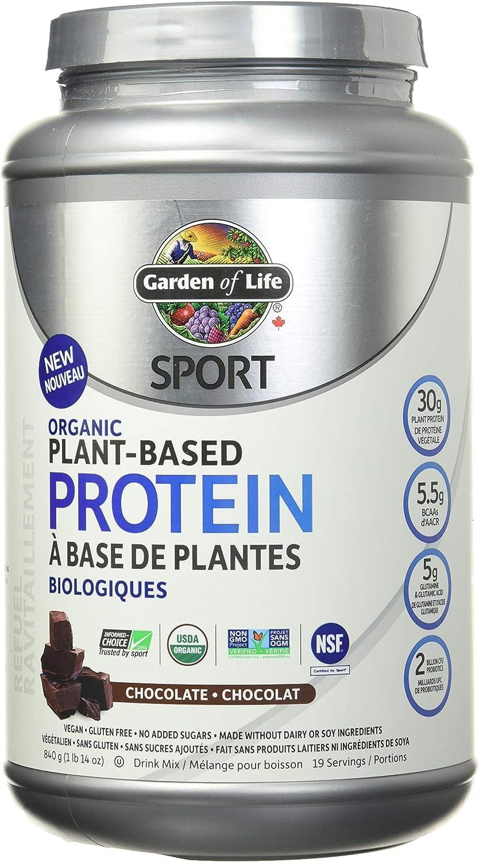 Austin Mall GARDEN OF LIFE Organic Omaha Mall Chocolate 840 GR Protein Plant Sport