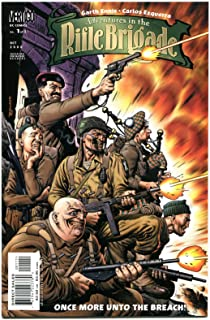 ADVENTURES in the RIFLE BRIGADE #1 2 3, NM+, Garth Ennis, Vertigo, WWII, 2000