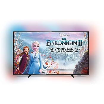 Philips Ambilight 65PUS6704/12 Fernseher 164 cm (65 Zoll) LED Smart TV (4K UHD, HDR 10+, Dolby Vision, Dolby Atmos, Smart TV) Schwarz [Modelljahr 2019]