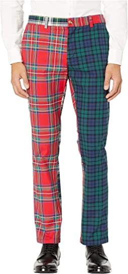 Party Tartan Slim Pants