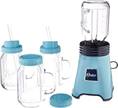 Oster Ball Personal Blender, Blue with Bonus Blending Cup