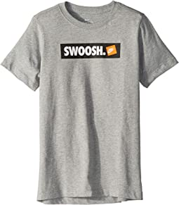 NSW Swoosh Sticker T-Shirt (Little Kids/Big Kids)