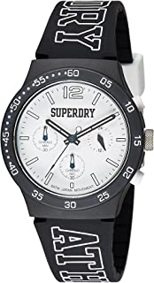 Superdry Urban Athletics Digital White Dial Men's Watch - SYG205B
