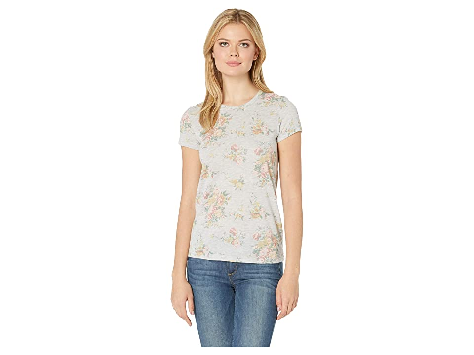 Alternative Ideal Tee (Eco Oatmeal Country Floral) Women