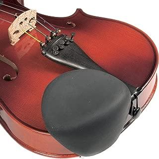 Strad Pad Black Chinrest Pad: Standard Size