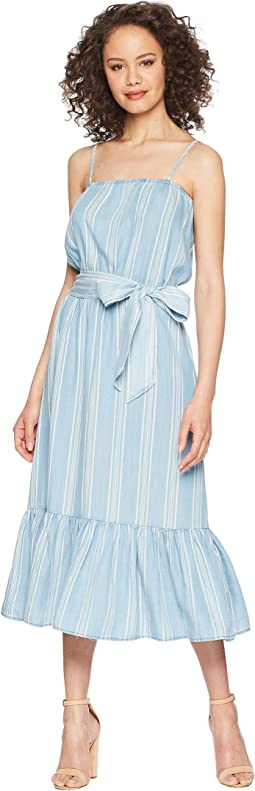 Tailyn Vertical Stripe Midi Dress