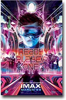 Ready Player One Poster - Movie Promo 11 x 17 inches IMax