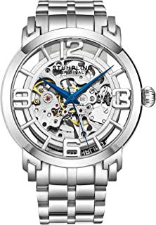 Stuhrling Original Skeleton Watches for Men - Mens Automatic Watch Self Winding Mens Dress Watch - Mens Winchester 44 Elite Watch Mechanical Watch for Men