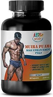 Muira puama Extract - Muira PUAMA 2200mg - Energy Pills for Men - Brain Booster Supplement - 1 Bottle 60 Capsules