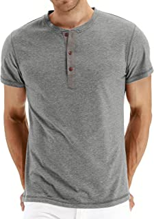 100 cotton henley shirts