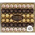 48-Count Ferrero Rocher Hazelnut Milk Chocolate & Coconut Confections