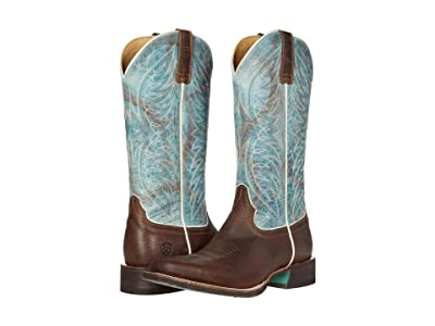 Ariat Circuit Westwood (Walnut Brown/Azul) Cowboy Boots
