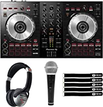 Pioneer DDJ-SB3 Compact Serato DJ Controller w/ 2-Channel Mixer & Headphones