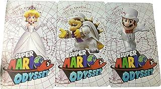 rafa store スーパーマリオオデッセイの3つの新機能カード任天堂スイッチ-3pcs