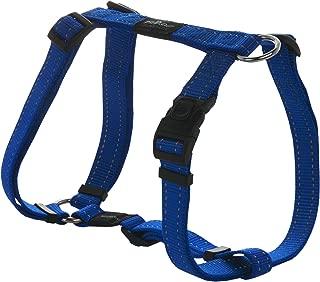 ROGZ Utility Large 3/4-Inch Reflective Fanbelt Adjustable Dog H-Harness