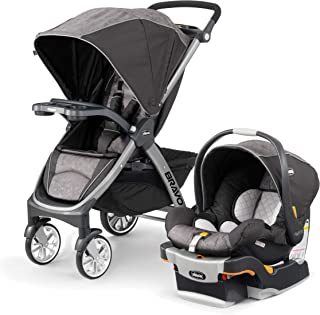 Chicco Bravo Trio Travel System - Meridian, Brown