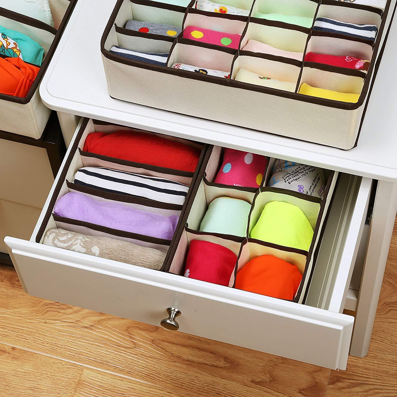 Amazon Com Set Of 4 Closet Bra Underwear Organizers Cloth