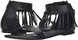 Ankle Strap Fringe Sandal