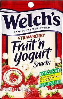 Welchs Strawberry Fruit N Yogurt Snacks, 4.25 Ounce -- 12 per case.