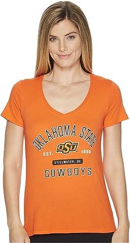 Champion College - Oklahoma State Cowboys University V-Neck Tee